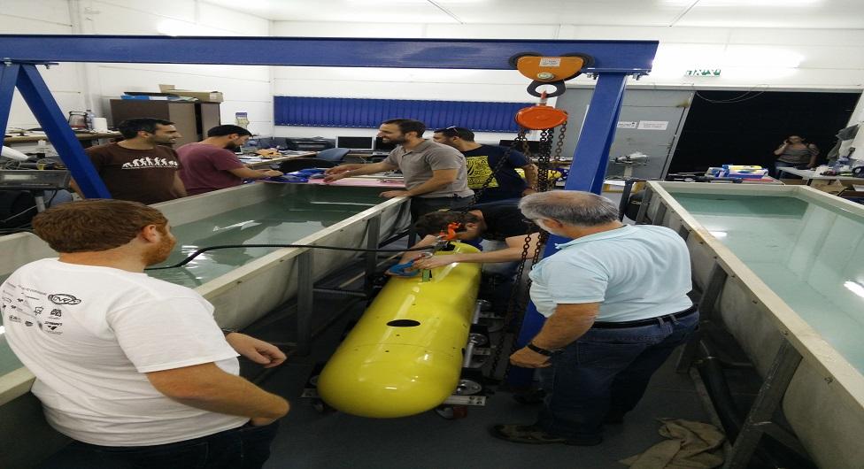"""אב""""ג: חברה חדשה למסחור רכב רובוטי תת ימי"""
