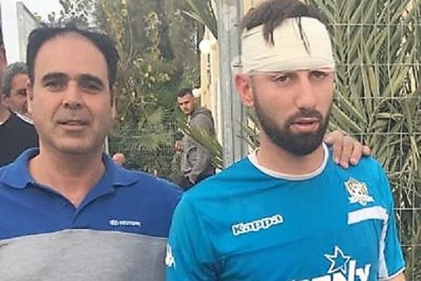 נפצע ופונה לסורוקה. מור בן עמי  צילום: פרטי