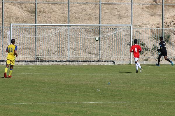 נערים א': השער הראשון למכבי תל אביב