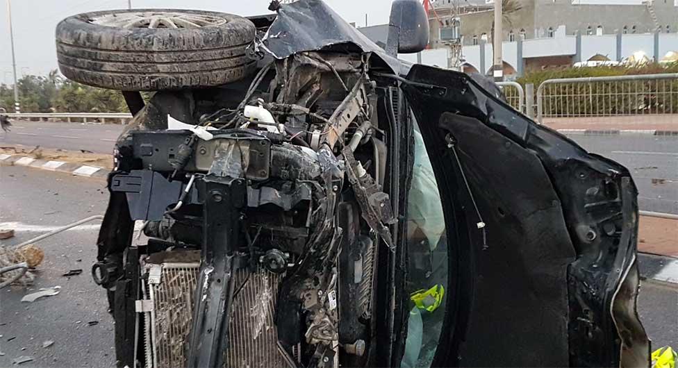 מפחיד: באר שבע בצמרת רשימת הנפגעים בתאונות דרכים