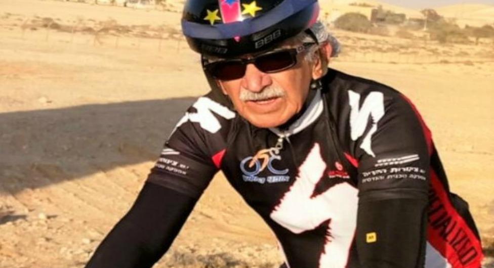 בן שמחון בן 70: בנגב ובאלפִּים על אופניים