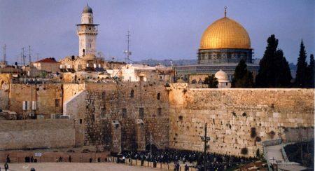 הכותל וכיפת הזהב - ירושלים