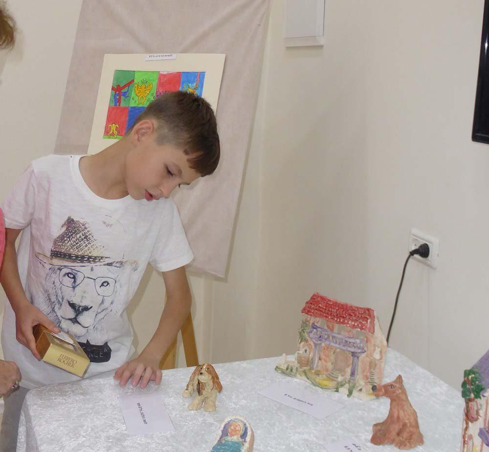 אמן אמיתי, והוא רק בן 9