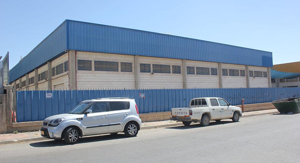 מפעל בטון חדש בעמק שרה