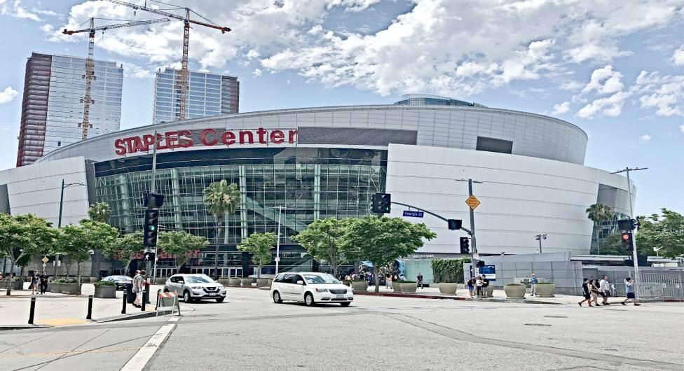 """מונדיאל בארה""""ב - האולם של לוס אנג'לס לייקרס"""