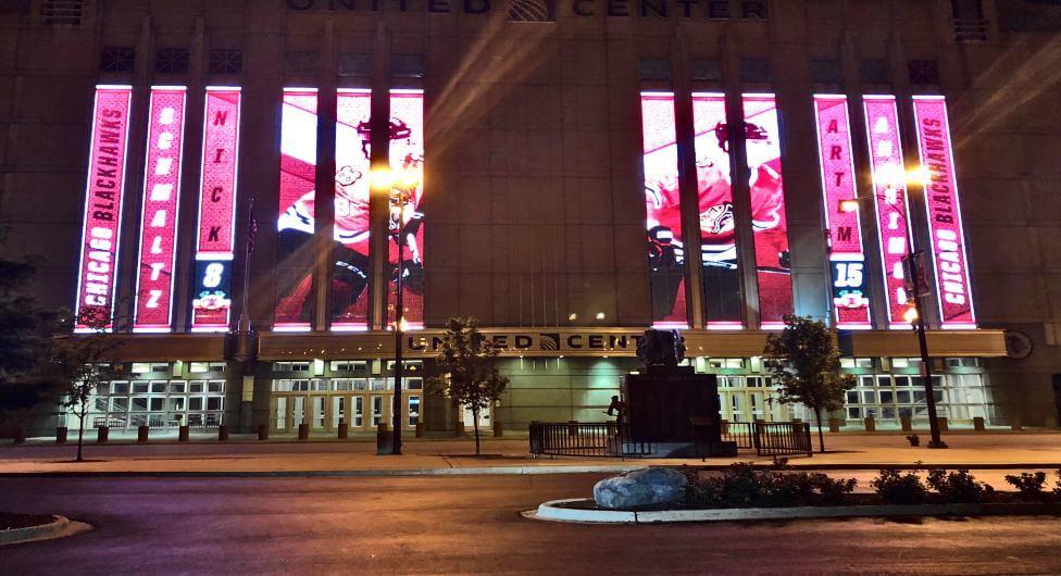 """מונדיאל בארה""""ב - האולם של שיקגו בולס"""