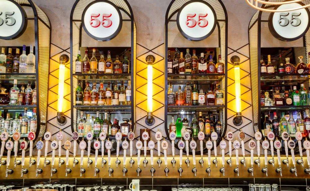 פאב 55 – בירה, אוכל ועוד בירה