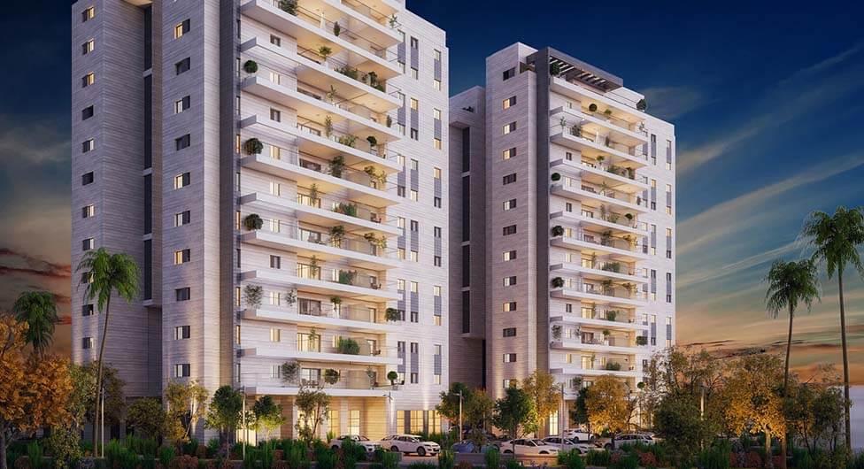 """שכונה חדשה בבאר שבע: 1,200 יח""""ד עם גינות תלויות"""