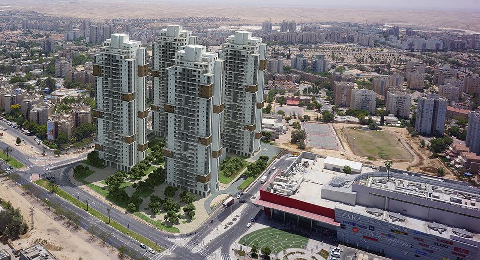 """""""גרנד אביסרור באר שבע"""": נפתח לשיווק המגדל הרביעי והאחרון בפרויקט"""
