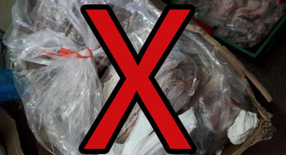 """הושמדו כ-1000 ק""""ג מוצרי בקר ודגים בעסק מזון בבאר שבע"""