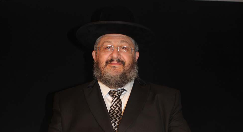 רב העיר יהודה דרעי עם הנחיות לקראת הפסח