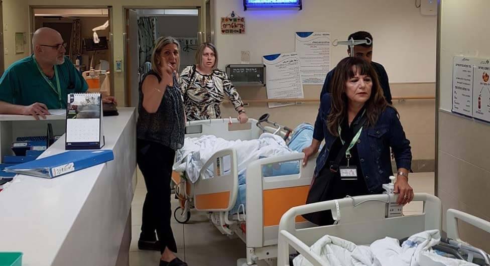 """""""לצערי עדיין קיימות בבית החולים מחלקות שאינן ממוגנות"""""""