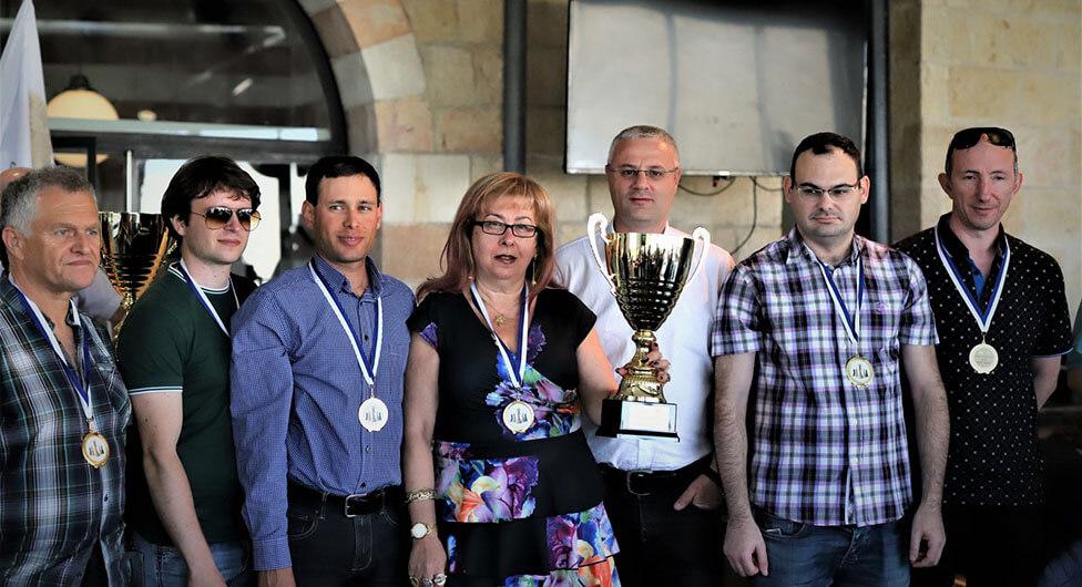 שחמטאי באר שבע זכו בגביע המדינה ל-2019