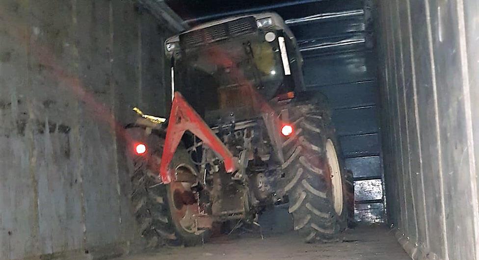 """מג""""ב עצרו חוליית גנבי כלים חקלאיים בדרום"""
