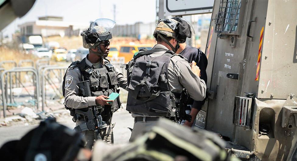נתפסו 77 פלסטינים