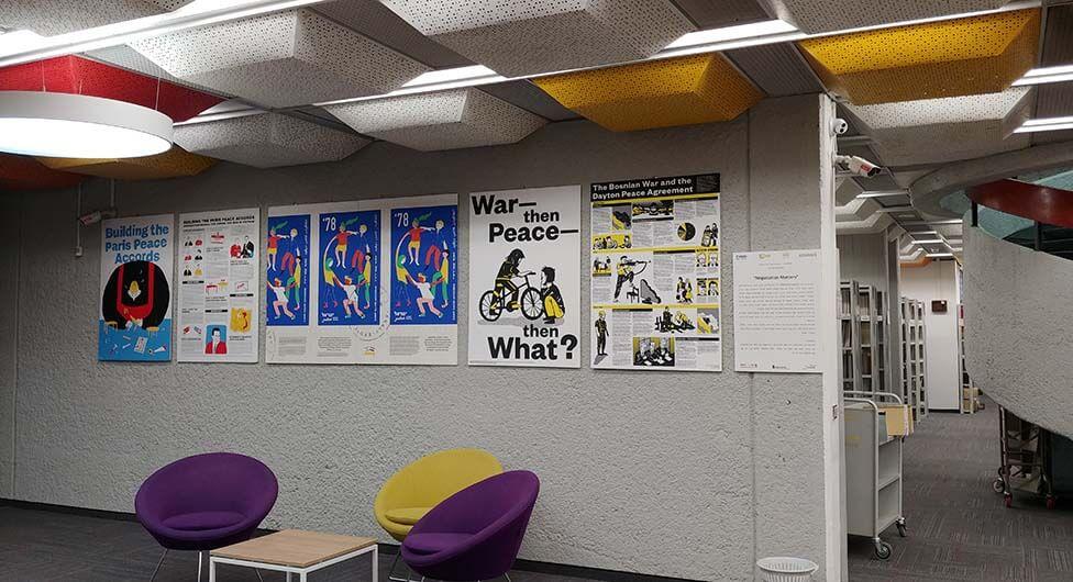 חדש: תערוכות בספריית ארן