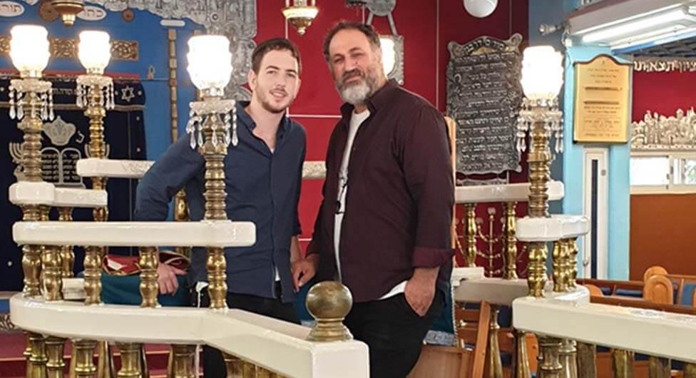 היוצר גולן אזולאי ביקר במושב נבטים