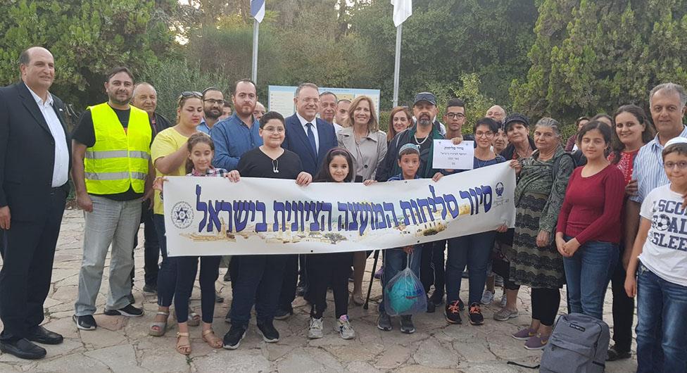 """תושבי באר שבע בסיור ה""""סליחות"""" הגדול בישראל"""
