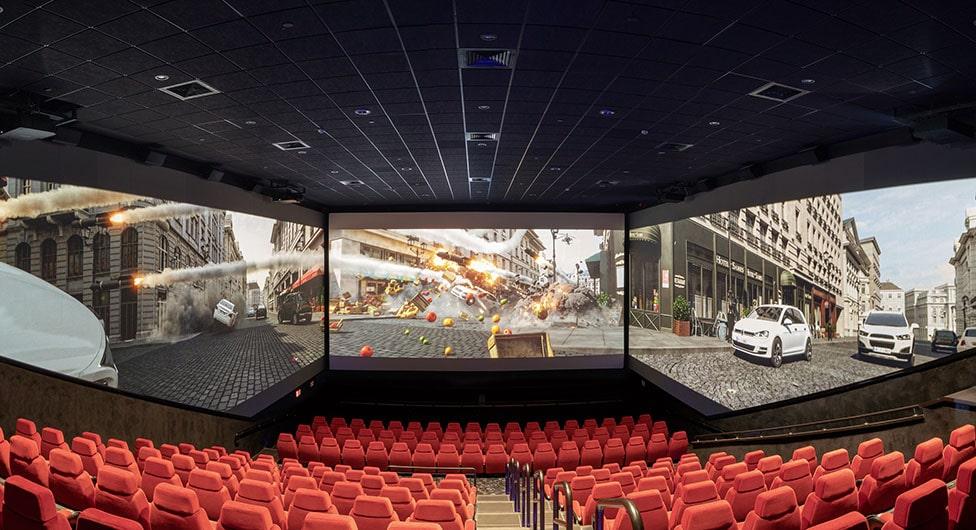 אולם ה-Screen X השני בישראל יושק ביס פלאנט באר שבע