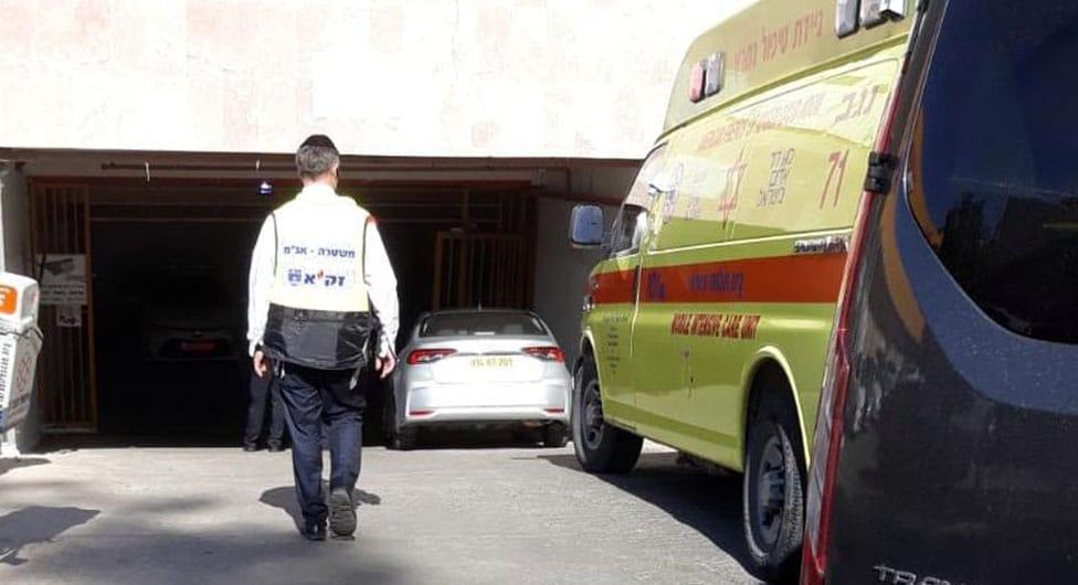 בן 60 אותר בחניון בבאר שבע ללא רוח חיים