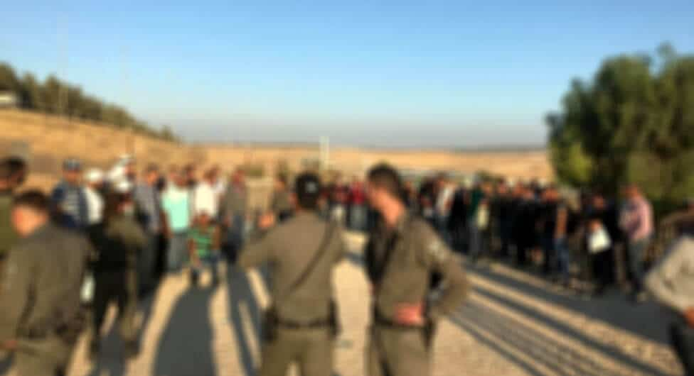 שוהים בלתי חוקיים מחברון והאזור הוחזרו לשטחי הרשות הפלסטינית