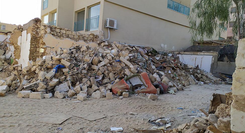 """מעקב """"שבע"""": תיק הרס המבנים לשימור לתביעה העירונית"""