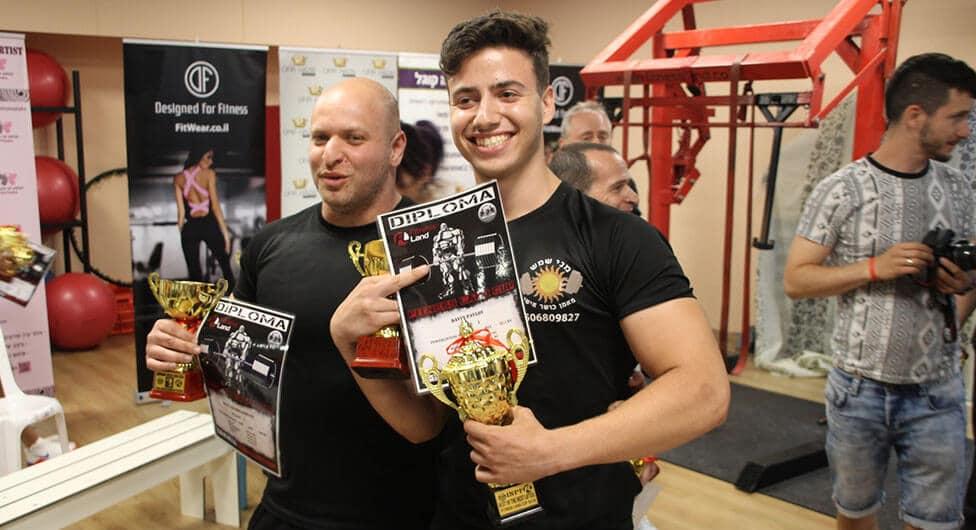 באר שבעי זכה באליפות ישראל לנוער בפאוור-ליפטינג