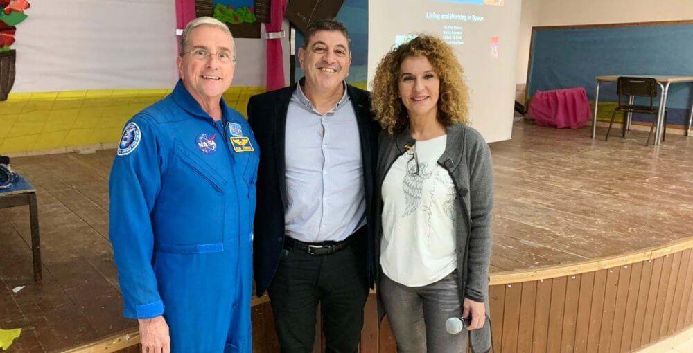 אסטרונאוט במרחבים
