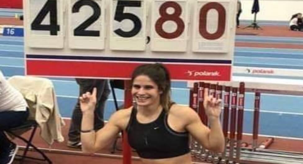 שיא ישראלי לספורטאית מאתלטי הנגב
