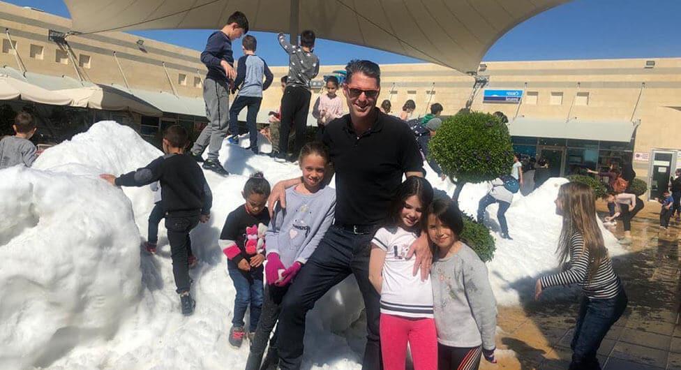 שלג בלהבים!