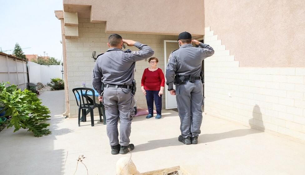 במרחב הנגב במשטרה זוכרים את הניצולים