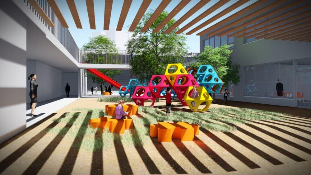 בית ספר ייחודי נבנה בשכונת סיגליות בבאר שבע