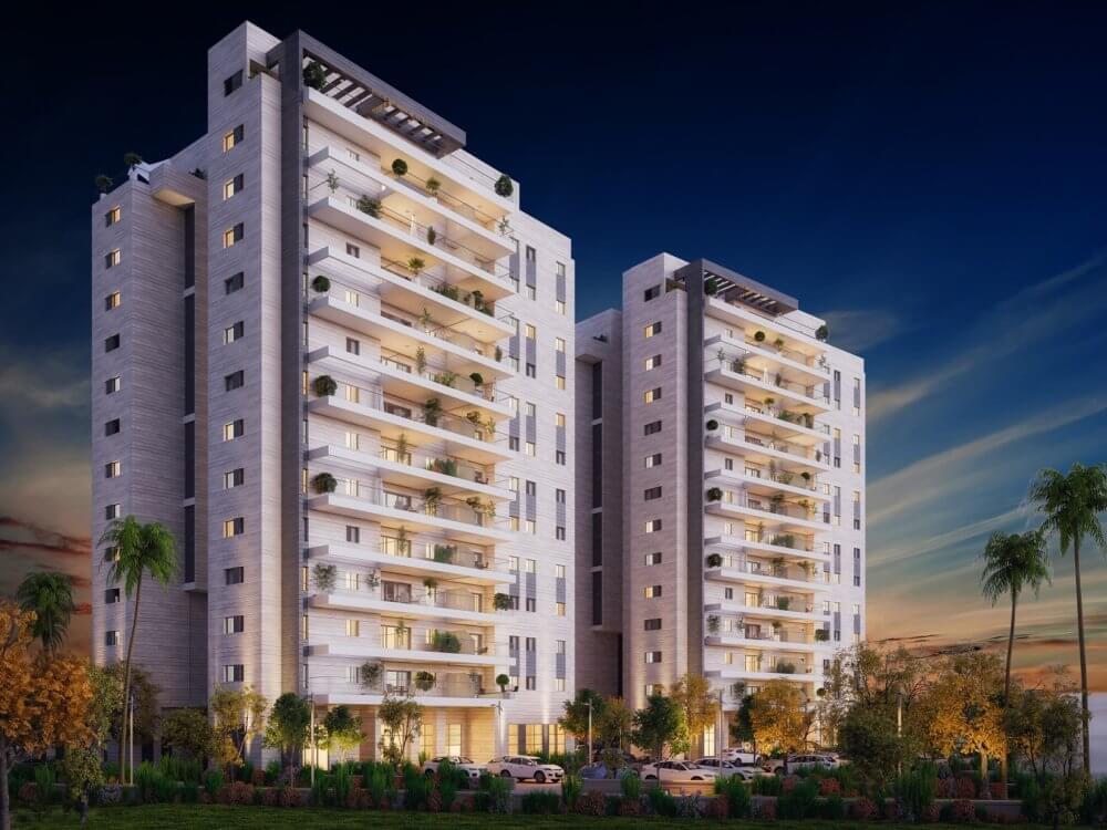 """התקבל היתר בנייה לשני הבניינים הראשונים בפרויקט """"אביסרור בנאות הדרים"""" שיכלול 650 יחידות דיור בבאר שבע"""