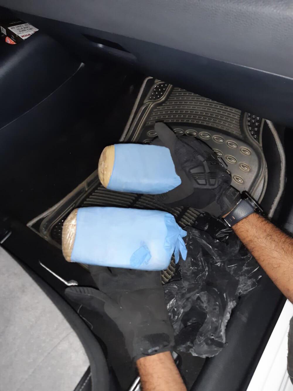 קילו הרואין נתפס בפעילות משטרה