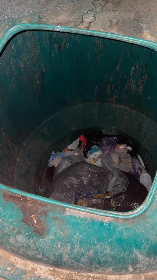 נער בן 16 נמצא בתוך פח מוטמן